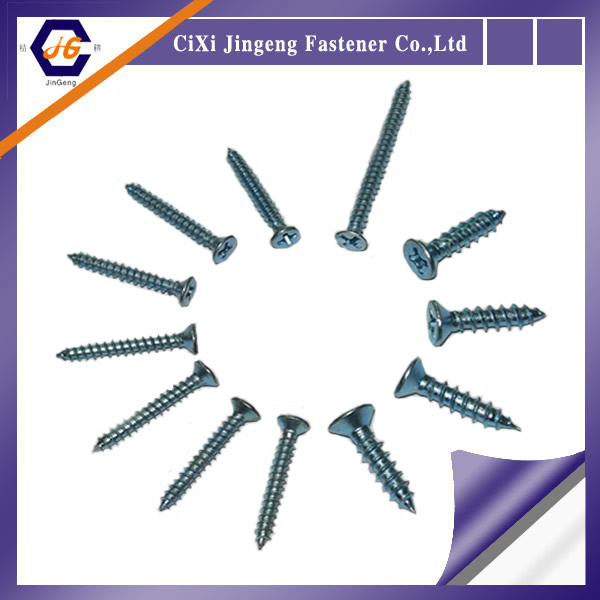 Drywall Screw Wood Screw Fasteners Bolt Customized Size with Tek/Sharp Point
