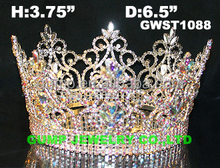 full round pageant tiara crowns