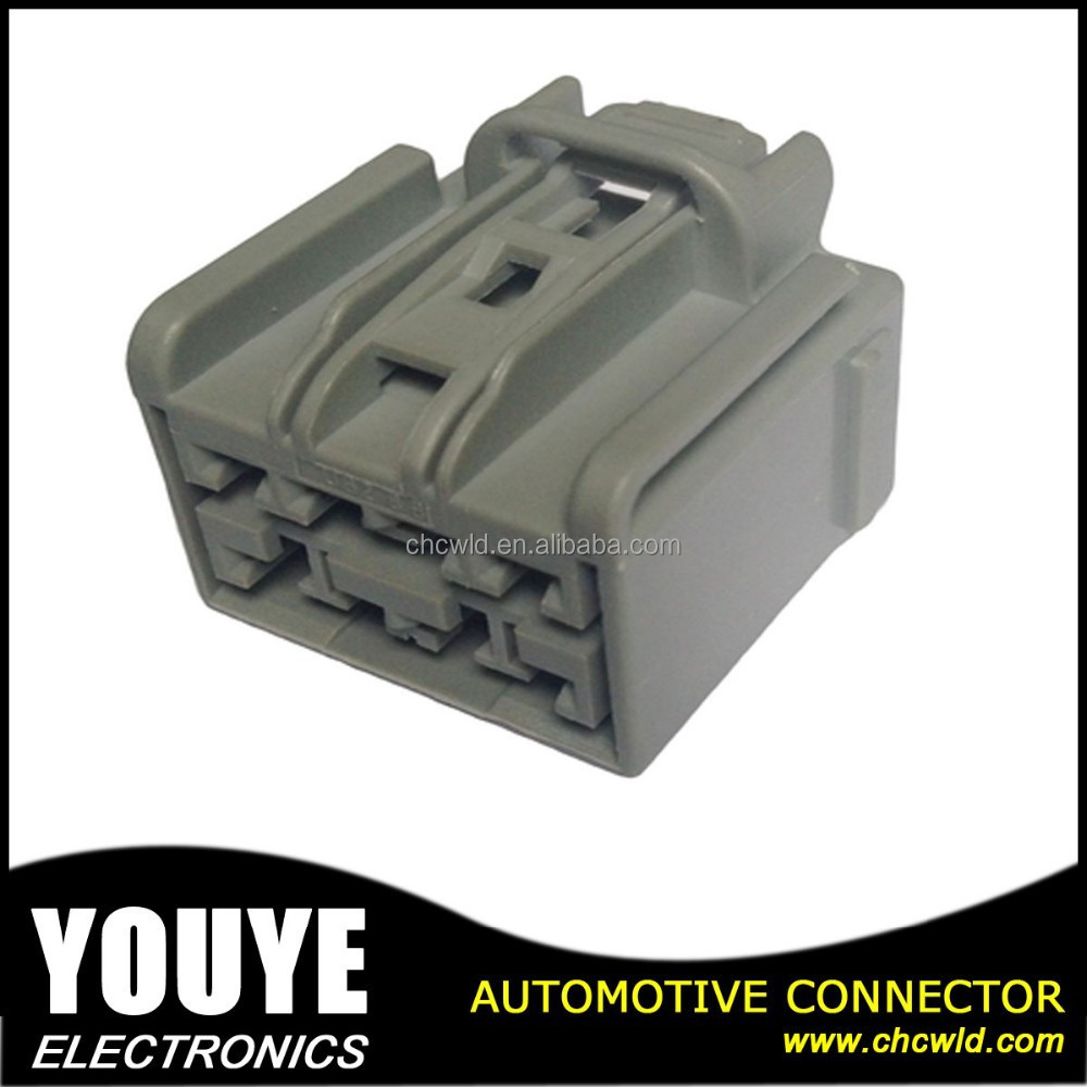 Automobile Female 8 pin Ford Connector/ YY7082A-2.8-21 Gray PBT connector