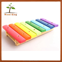 2017 Kid Funny Wholesale Eight Piano Xylophone Wooden Musical Instruments Baby Toys Toy Musical