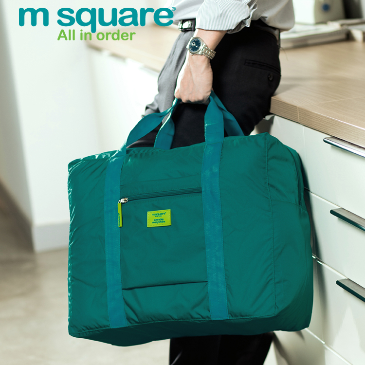 Carry-on foldable lightweight M Square duffel luggage bag for <strong>travel</strong>