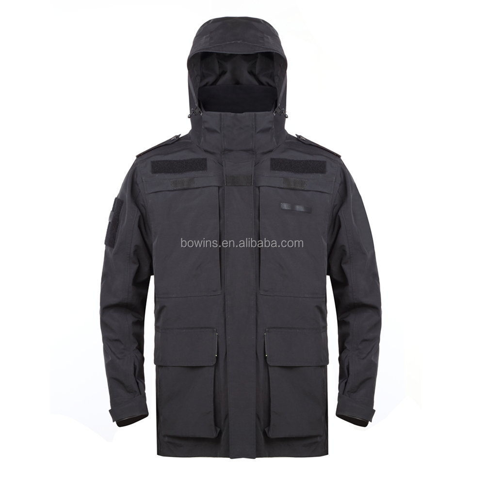 Wholesale custom design waterproof police security jacket