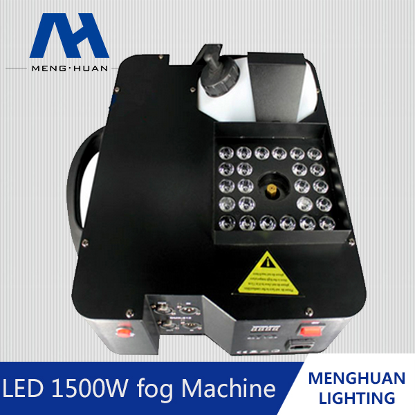 Stage led smoke machine 1500w/vertical fog machine