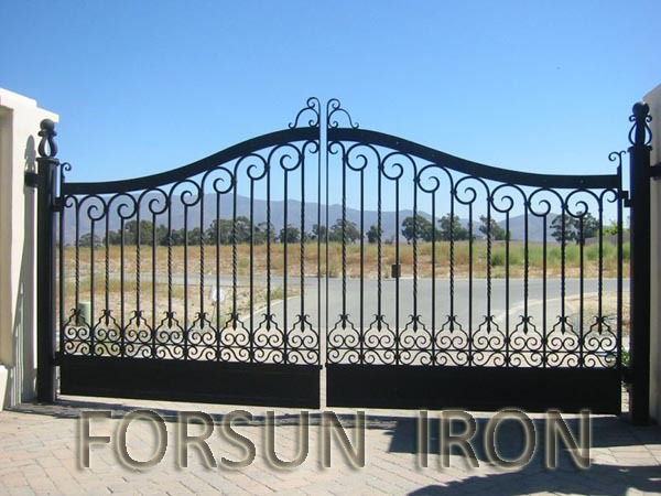 Ornamental iron gate designs