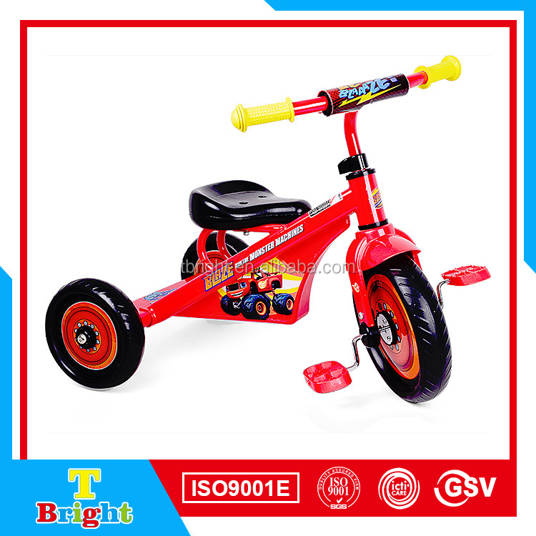 SF-17 Cheap Plastic Tricycle Kids Bike With EVA Wheels