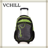pull trolley children school bags for boys