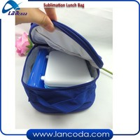 various color canvas children blank sublimation school bag for lunch