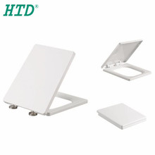 Factory Price White Non-electric Square Toilet Seat