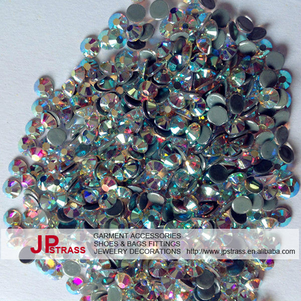 Fabulous of shiny crystal hot fix ab crystal 20ss 1440 pcs each pack for cheerleading bows manufactures