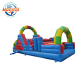durable kids game inflatable obstacle course playground