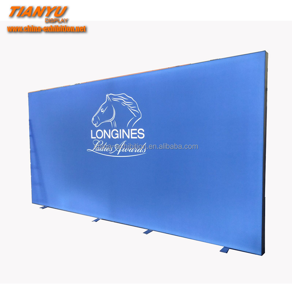 Advertising Equipment Aluminum Frameless Fabric Led Light Box