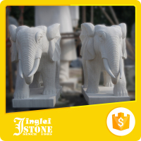 Factory Fair Price Stone Elephant Sculpture/Statue