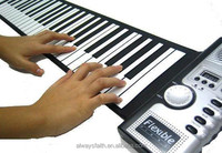 Musical Instrument Hot Selling 61 Keys Hand Roll Piano