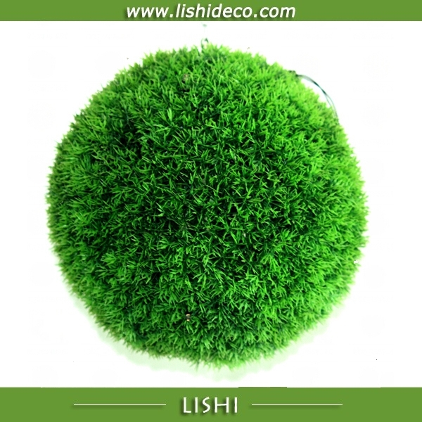 Wholesale Topiary Artificial Grass Moss Ball