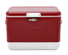 2016 New Collection 54QT/51L Portable fashion metal beer ice Cooler Outdood Cubic Cooler Box