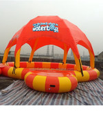 Inflatable swimming pool cover / water toys pool