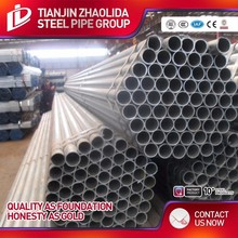BS 1387 standard scafolding pre galvanized gi pipe used for construction
