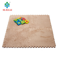 Soft Interlocking Foam Play Floor Mat / Plush EVA Sheet