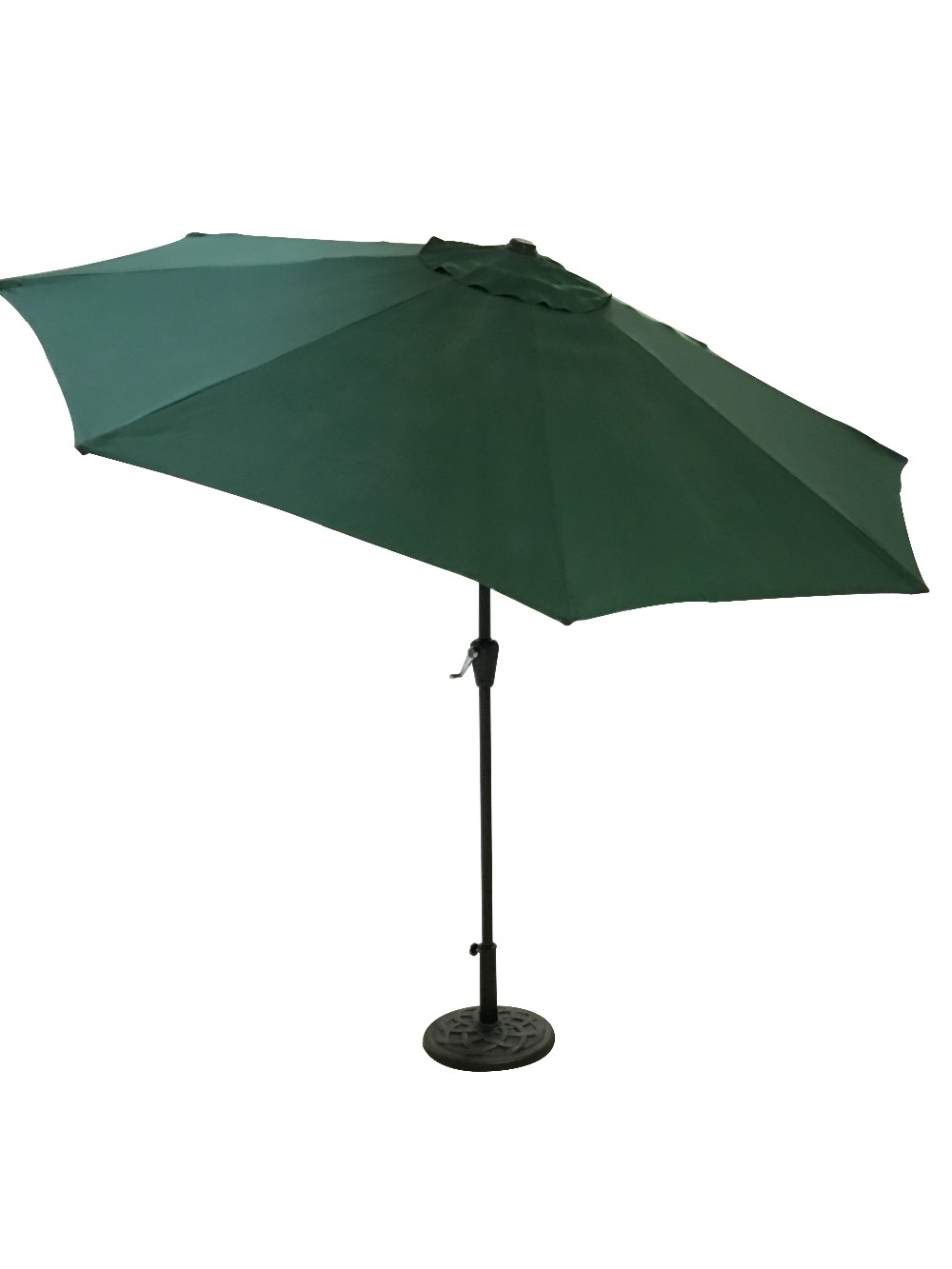 270cm Patio Umbrella with Auto Tilt and Crank