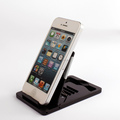 Plastic portable cell phone holder for car phone holder