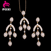 african plated 18k full gold dubai fashion jewelry latest indian jewelry set