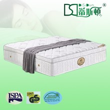 Super Luxury Euro Pillow Top Plush Soft High Quality kapok cotton fabric mattress