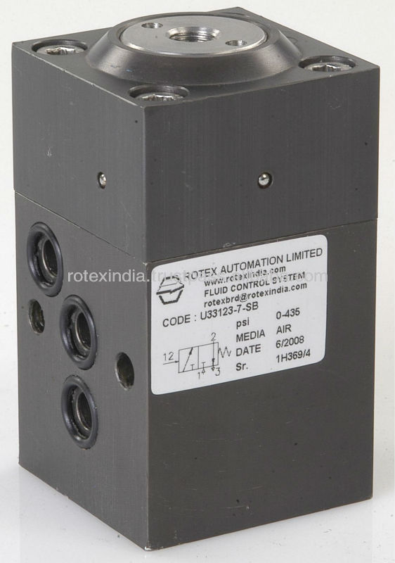 3 Way Air operated subabse Solenoid Valve