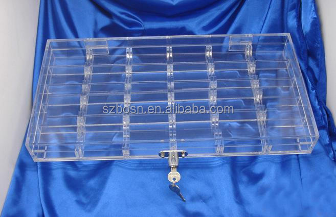 factory manufacturer Acrylic poker chip tray,Poker Chip Set,Casino chip tray