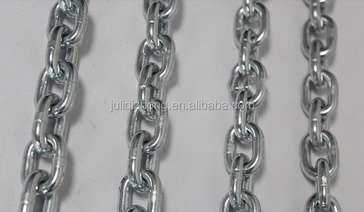 China factory supply 2mm galvanized short link chain