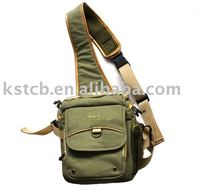new stylish custom high quality sling shoulder dslr canvas camera bag
