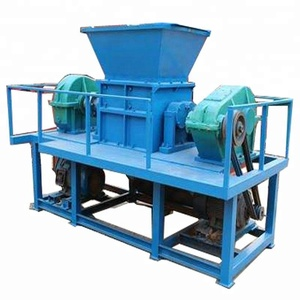 Plastic PET Bottle PP Film crusher Aluminum recycling equipment of cans crusher