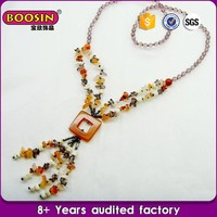 women accessories china Factory exotic beads necklace