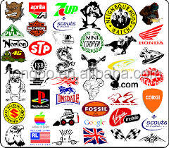 Fashion Self Adhesive Paper Super Brand Sticker
