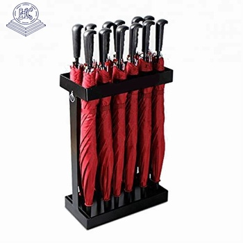 convenient large capacity durable wet umbrella stand