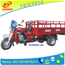 China KAVAKI brand Customized design Two rear wheel car with wagon five wheel motorcycle