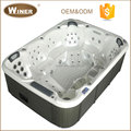 3050x2240x920mm CE/ISO9000 certificated balcony sex whirlpool massage balboa hot tub