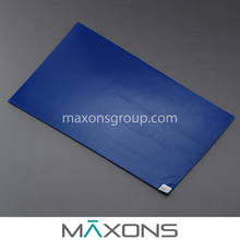 Disposable Cleanroom Sticky / Tacky Floor Mats - 30 Layer Adhesive Coated Film