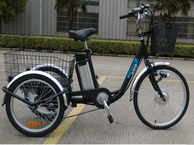 Pedal assisted electric tricycles hot sale in china