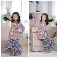 Lovely Girls Fashion Boutique Clothing Children Clothes Sets