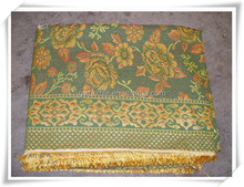 travel picnic golden thread blanket