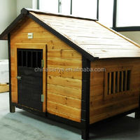 Hot wooden pet house/ 2014 CE Certified Waterproof Wood Plastic Composite Wpc Pet House/ Modern Outdoor Wholesale Dog Cage