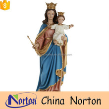 religious ornaments mary and baby jesus statue for wholesale NTRS-WS042X