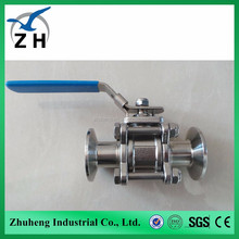 2016 hot product clamp direct ball valve bugatti ball valve with high quanlity