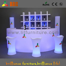 illuminated bar chair/club stool seater/led seating furniture