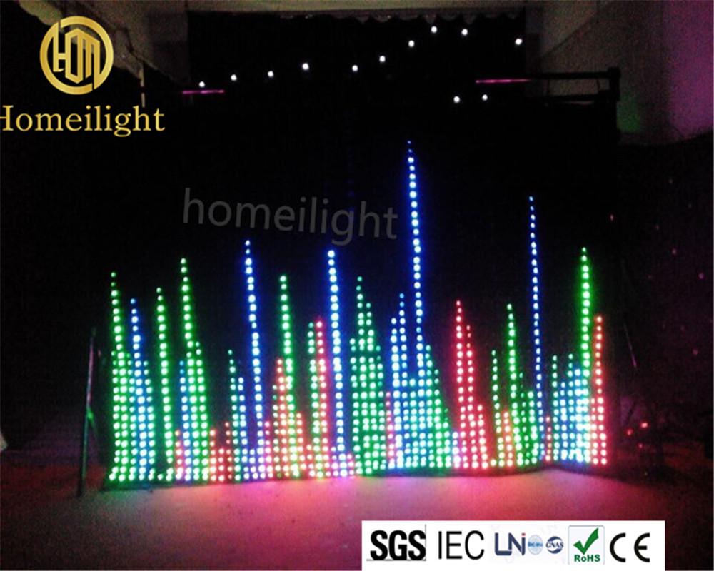 Led curtain concert - P10cm 3m 4m P10cm 3m 4m Concert Backdrops Foldable Strong Led