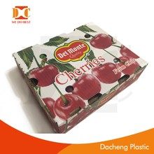 high quality cardboard corrugated paper type fruit/cheery box