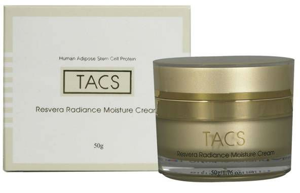 TACS Resvera Radiance Cream Human Stem cell Protein