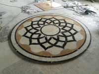 Marble Medallion with Waterjet, water pump