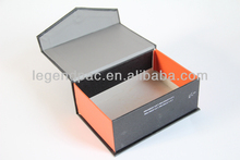black matte chipboard gift box folding box with magnets