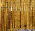 Split Moso natural bamboo cane bamboo poles Decorate bamboo materials build bamboo pole